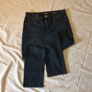Style and Co Denim jeans slim leg size 4PS